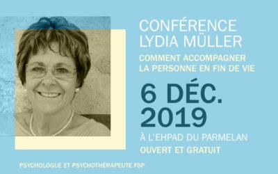 Conférence Lydia Müller